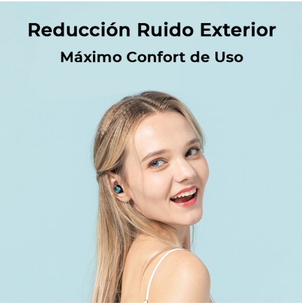Mini Auriculares Bluetooth TWS-S11 (IOS/Android) Negro