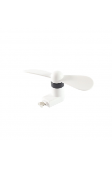 Mini Ventilador Iphone 5/6/6 Plus/7 Blanco
