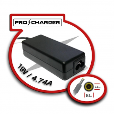 Carg. 19V/4.74A 5.5mm x 3.0mm 90w Pro Charger
