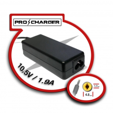 Carg. 10.5V/1.9A 4.8mm x 1.7mm 36w Pro Charger