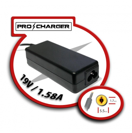 Carg. 19V/1.58A 5.5mm x 1.7mm 36w Pro Charger