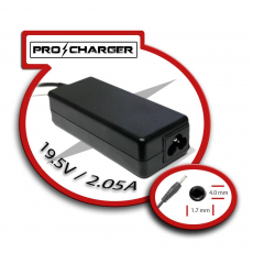 Carg. Ultrabook 19.5V/2.05A 4.0mm x 1.7mm 40w Pro Charger