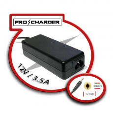 Carg. Ultrabook 12V/3.5A 4.0mm x 1.7mm 42w Pro Charger