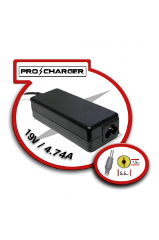 Carg. 19V/4.74A 5.5mm x 1.5 mm 90W Pro Charger