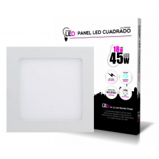 Panel LED Cuadrado 18W 6500K Luz Fría 1200LM Radiant LED