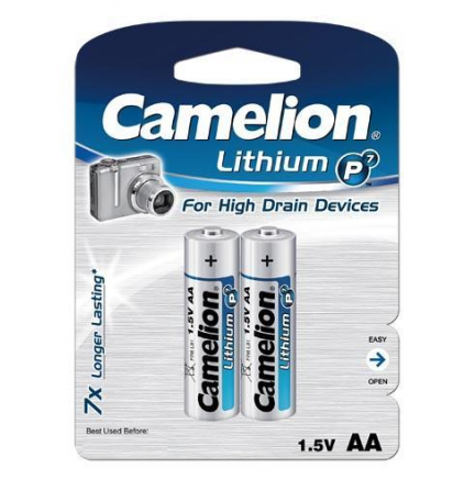 Litio AA 1.5V (2 pcs) Camelion