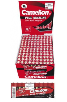 Plus Alcalina AA 1.5V (24 Packs*10 Pilas) Camelion