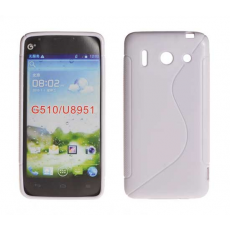 Funda Silicona Protect-S Huawei Ascend G510 Blanca