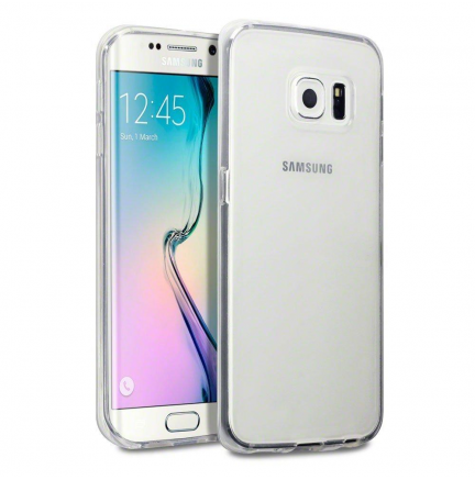 Funda Slim Protect Samsung Galaxy S6 Transparente