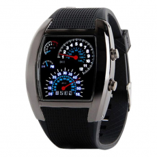 Reloj Digital Sport LED Negro