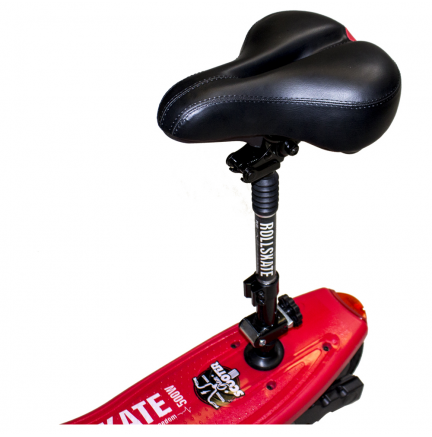 Rollskate Plus 500W/24V/10.4Ah/Litio Rojo Gran-Scooter