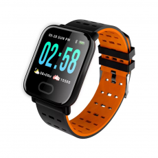 Smartwatch A6 Bluetooth Naranja