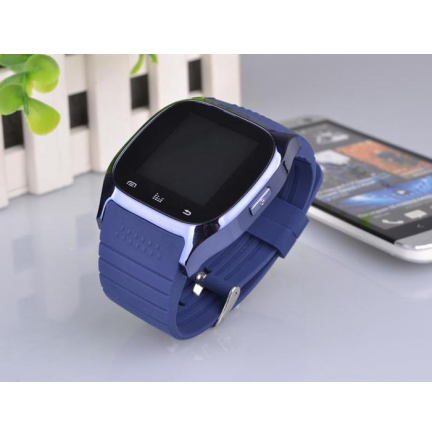 SmartWatch Sport M26 Bluetooth Azul