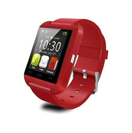 SmartWatch U8 Bluetooth Rojo