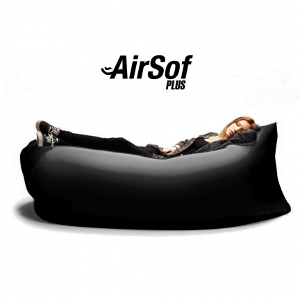 Sofá Hinchable AirSof Plus Negro