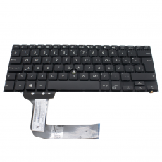 Teclado Asus Pro Advanced BU201 Retroiluminado Negro