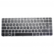 Teclado HP EliteBook 745 840 G3 Plata