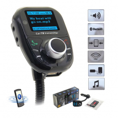 Transmisor FM LED Bluetooth Coche