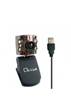 Webcam+Microfono USB 2.0 5 Mpxl L-Link